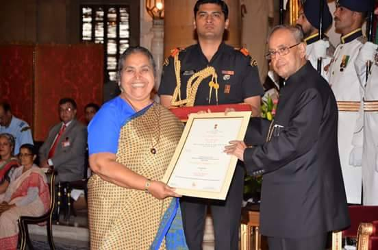 Lucy award by President of India