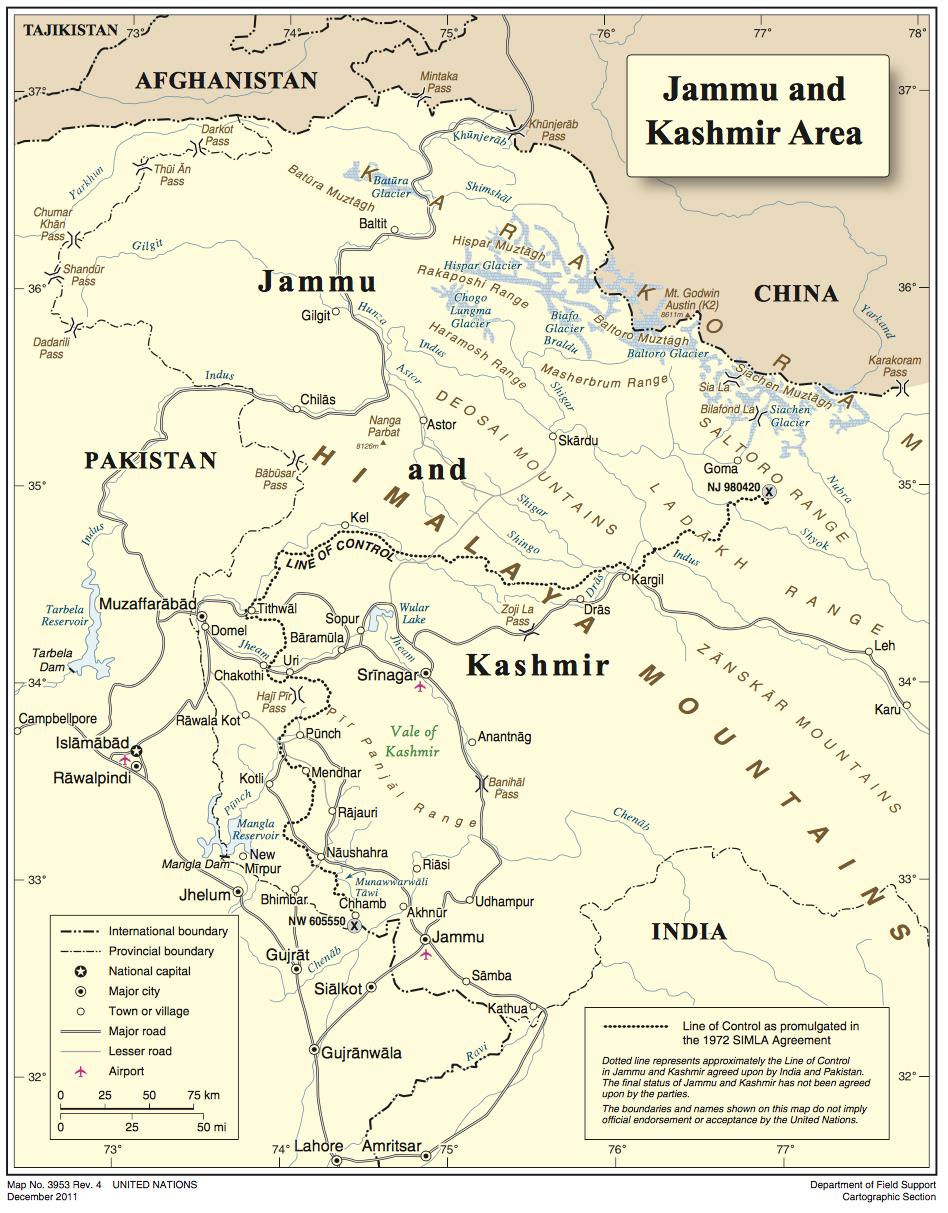 About Kashmir – Global Citizen Journey